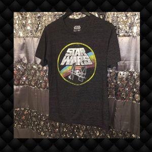 Star Wars Classic Logo Men's Tshirt M